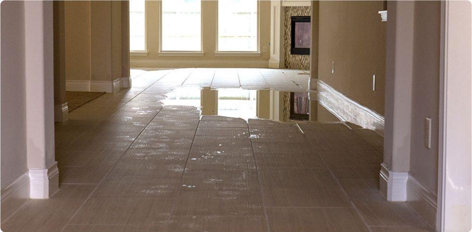 Flooded Carpet Restoration